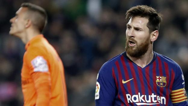 Barcelona 1-0 Real Valladolid: Lionel Messi scores one penalty but misses another thumbnail