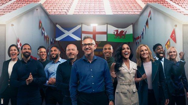 BBC's Euro 2020 punditry line-up