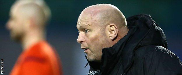David Jeffrey saw his Ballymena side earn a 1-1 draw away to Glenavon