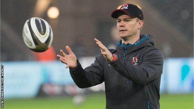 Dwayne Peel has been part of the Ulster backroom staff since joining from Bristol in 2017