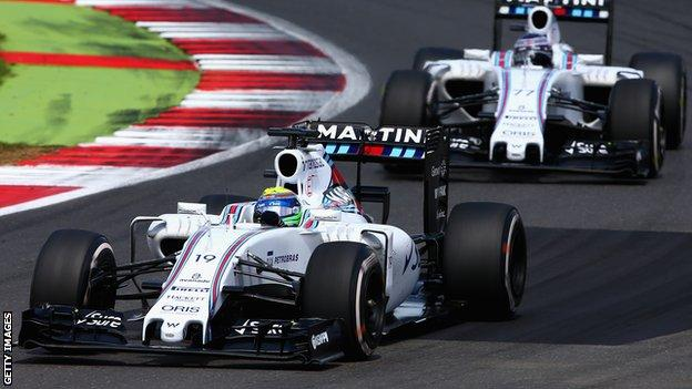 Valtteri Bottas and Felipe Massa to stay at Williams