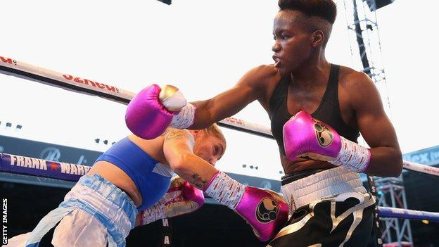 Nicola Adams fights Soledad del Valle Frias at Elland Road in May