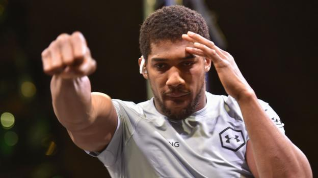 Joshua v Ruiz II: Anthony Joshua responds to 'sportwashing' Saudi human rights claims thumbnail