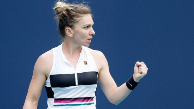 Miami Open: Simona Halep sets up meeting with Venus Williams in last 16 thumbnail