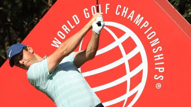 McIlory was tied with Kevin Na, Jason Scrivener and Cameron Smith