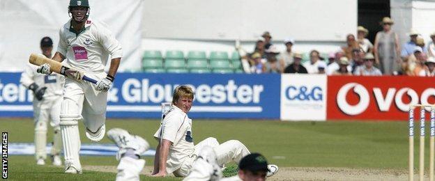 Worcester v Lancashire New Road 2003