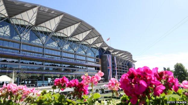 Ascot Racecourse at last year's Royal Meeting