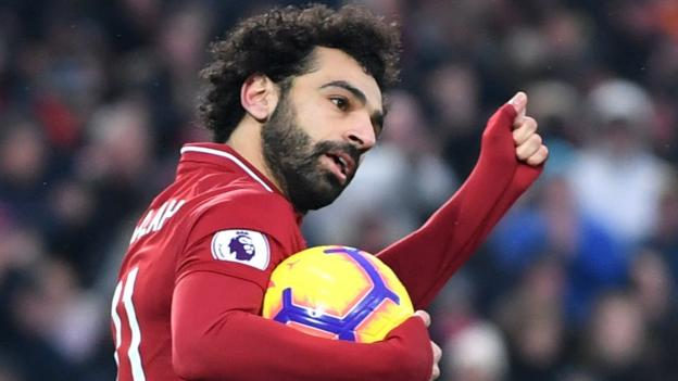 Liverpool 4-3 Crystal Palace: Mohamed Salah double as Reds edge thriller thumbnail