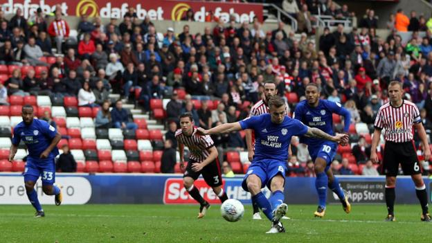 Sunderland 1 2 cardiff city bbc sport - Bbc football league 1 table ...