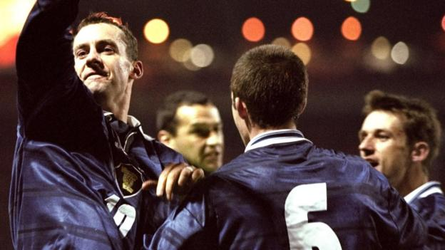 Ince, Wenger & Keegan: Scotland's win at Wembley 20 years on