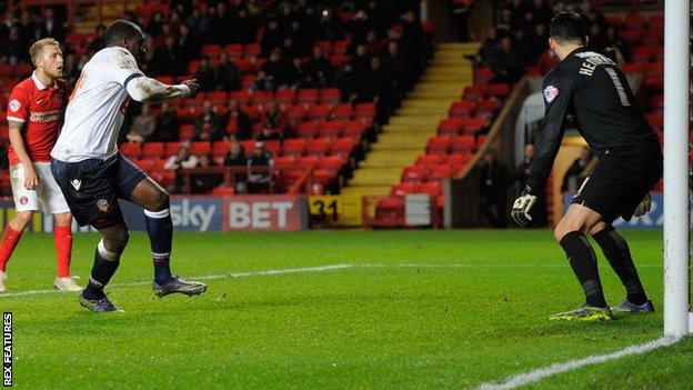 Bolton striker Emile Heskey