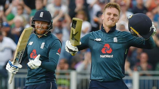 Jason Roy scored his 2nd hundred of this 5 match ODI series against Australia. (Photo - BBC)