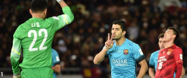 Barcelona, winners in 2009 and 2011, are seeking to become the first club to lift the Club World Cup three times