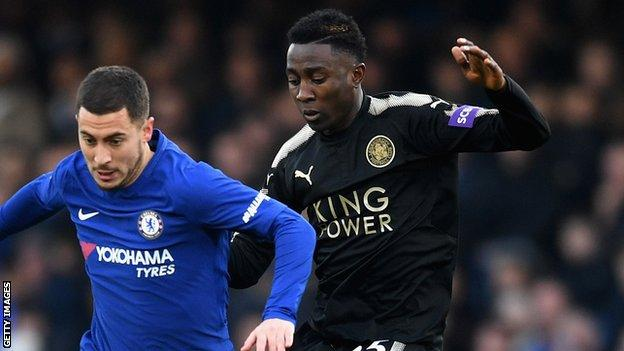 Wilfred Ndidi (right) and Eden Hazard