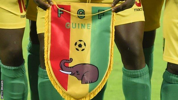 The Guinea Football Federation logo