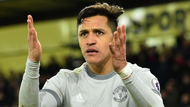 Alexis Sanchez: Manchester United not getting best from forward - Jose Mourinho