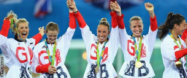 Rio 2016, GB women's hockey team