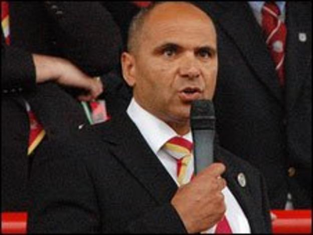 JFA president Ricky Weir