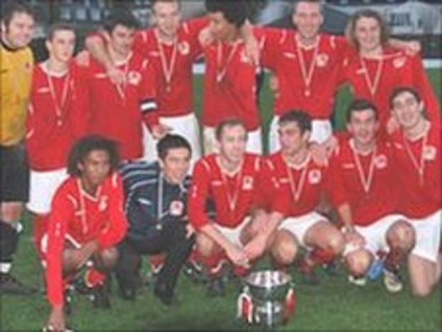 Jersey celebrate their under 21 Muratti win