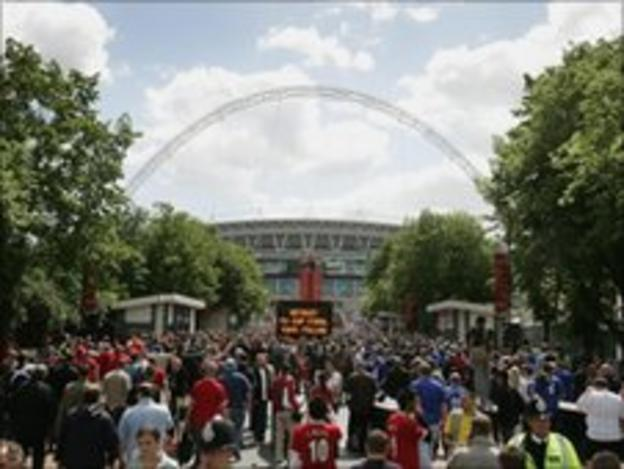 FA Cup final day