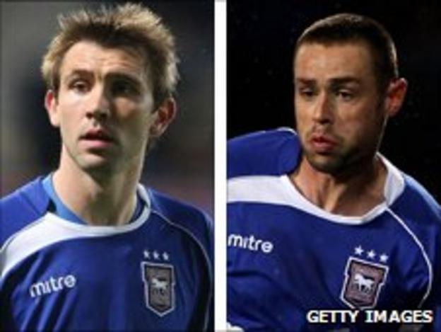 Gareth McAuley and Damien Delaney
