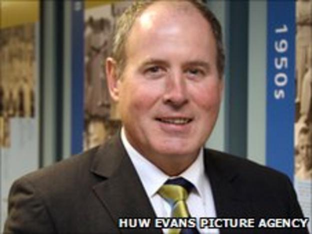 Glamorgan chairman-elect Nigel Roberts