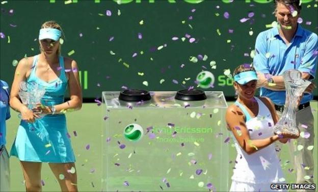 Maria Sharapova and Victoria Azarenka