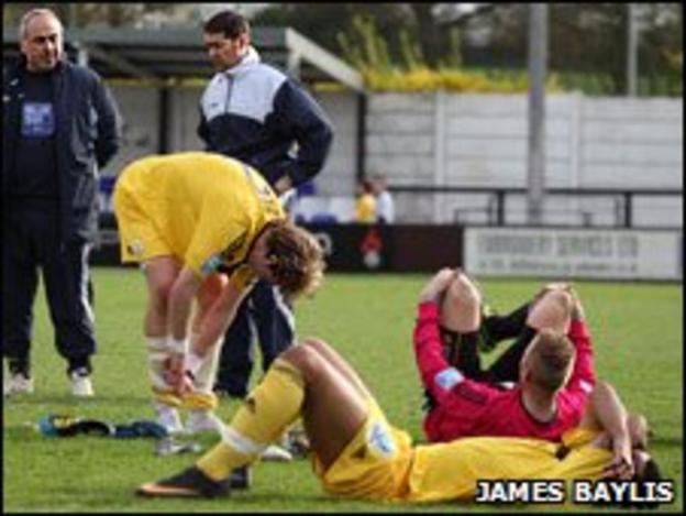 AFC Telford lose at Eastwood