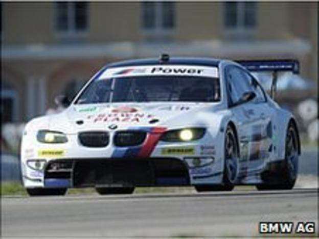 BMW M3 GT driven by Andy Priaulx