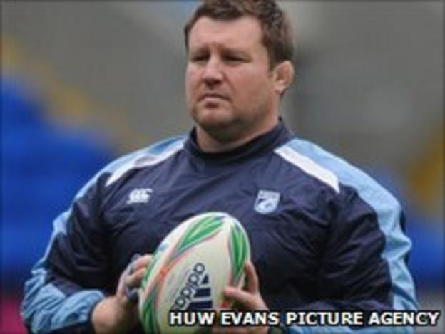 Blues coach Dai Young