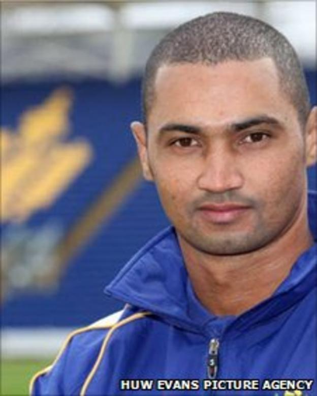 Glamorgan captain Aliro Petersen