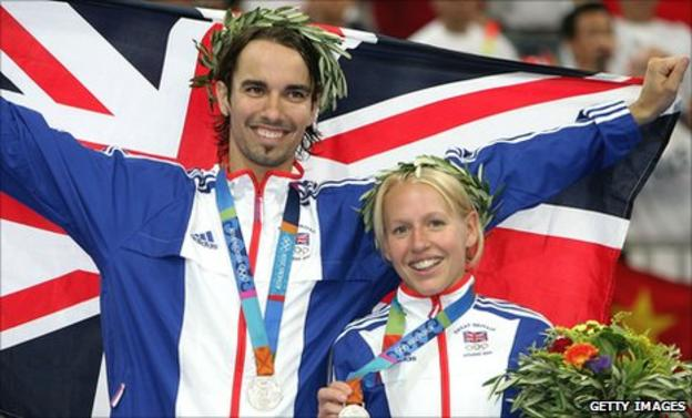 Nathan Robertson (left) and Gail Emms (right)