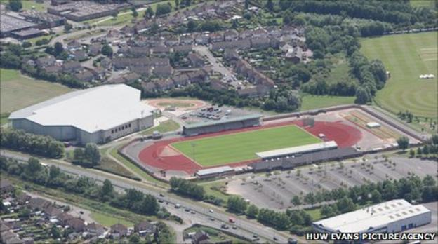 The site in Newport already has a velodrome, cricket and indoor tennis centres
