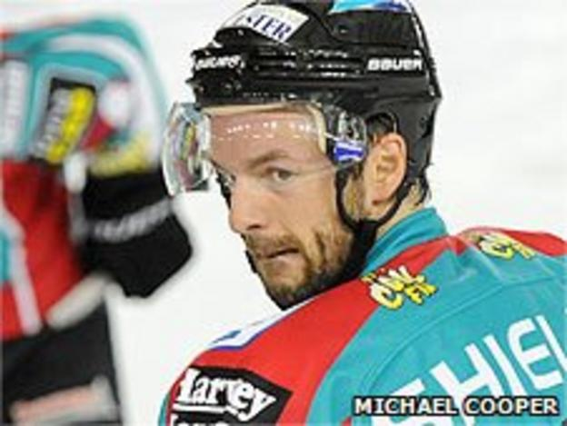 Colin Shields had two spells with the Belfast Giants