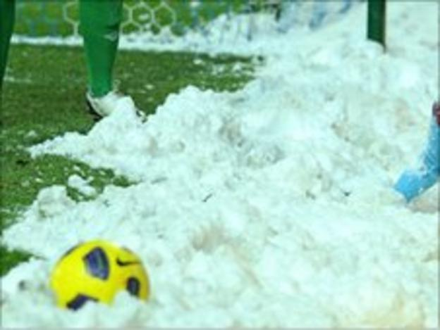 Many Welsh Premier games this season were cancelled because of snow