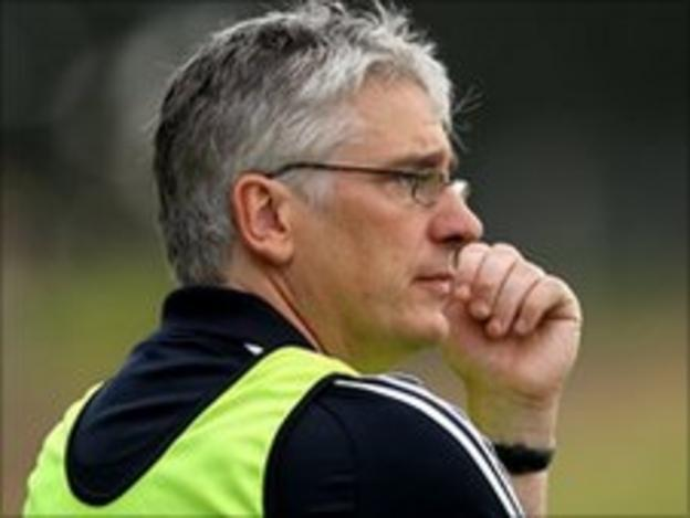 Cavan joint-manager Val Andrews