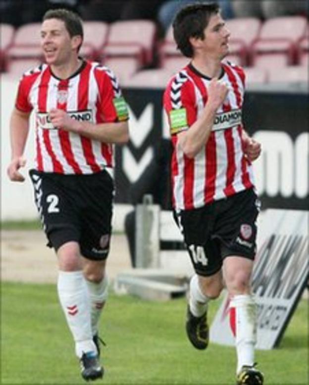 Eddie McCallion and Gareth McGlynn