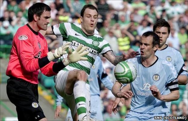 Celtic 1-0 St Mirren