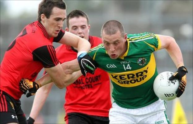 Dan Gordon and Kieran Donaghy