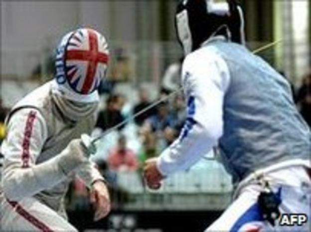 Laurence Halsted fighting for Britain