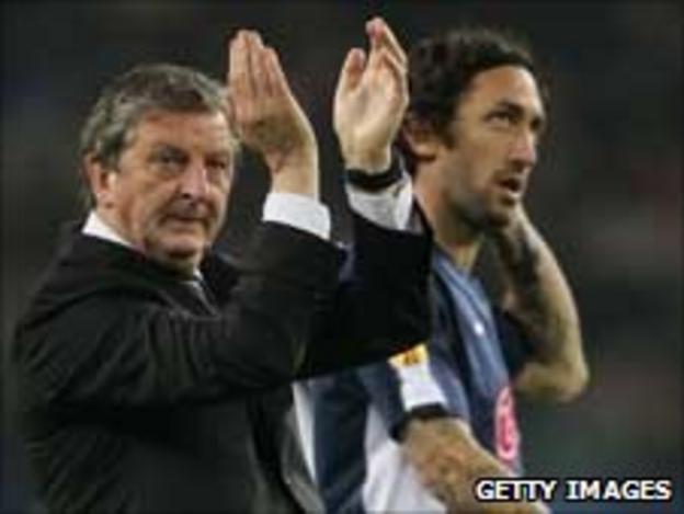 Roy Hodgson (left) led Fulham to last year's final