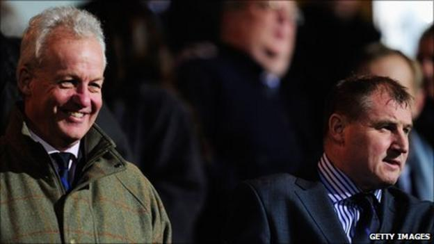 Simon Clegg and Paul Jewell