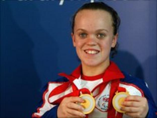 Double Paralympic champion Ellie Simmonds