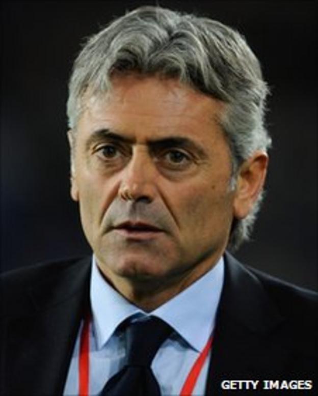 England assistant manager Franco Baldini