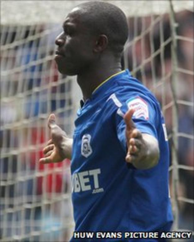 Cardiff's Seyi Olofinjana