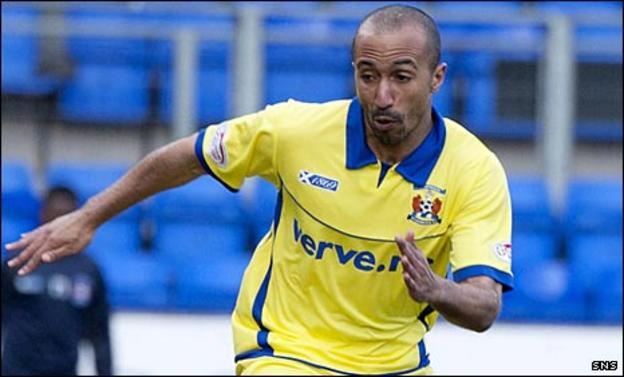 Kilmarnock midfielder Mehdi Taouil