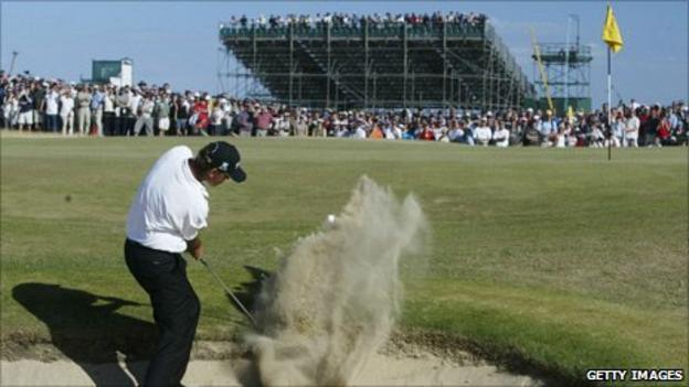 Thomas Bjorn at Royal St George's in 2003