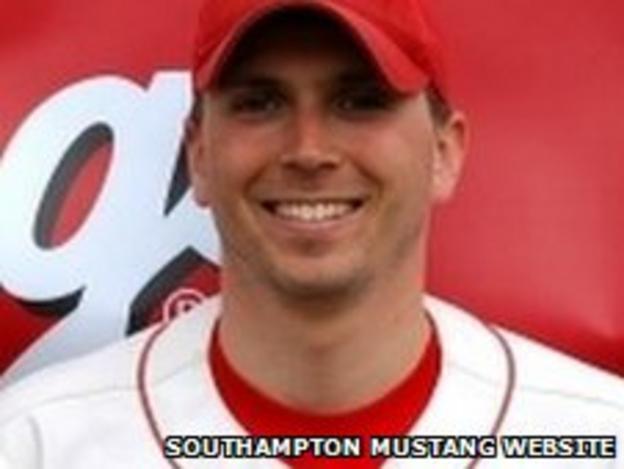 Southampton Mustangs coach Ben Davis