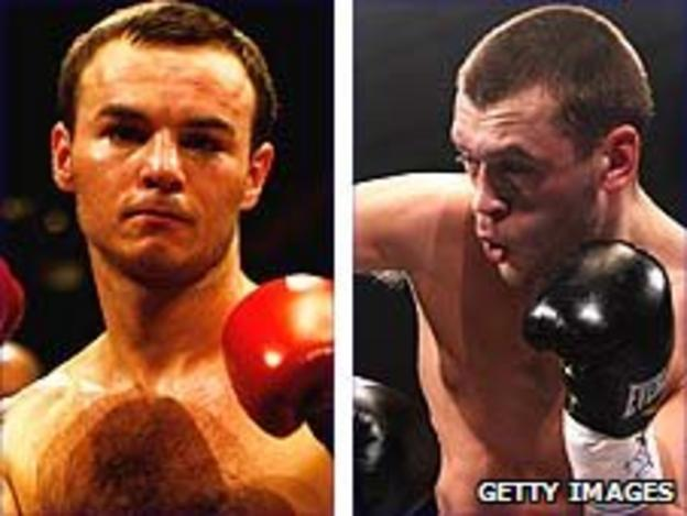 Kevin Mitchell (left) and John Murray
