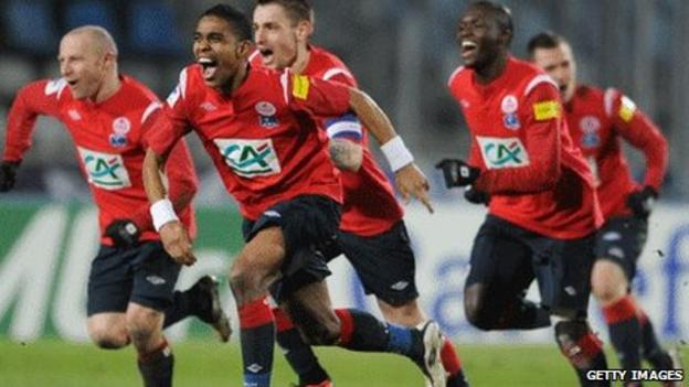 Lille players